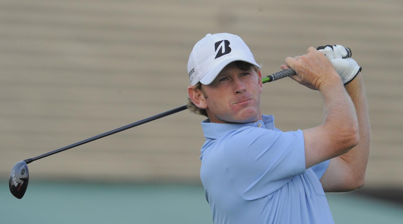 Brandt Snedeker during the first round of the Arnold Palmer Invitational at Arnold Palmer's Bay Hill Club & Lodge in Orlando, Florida.