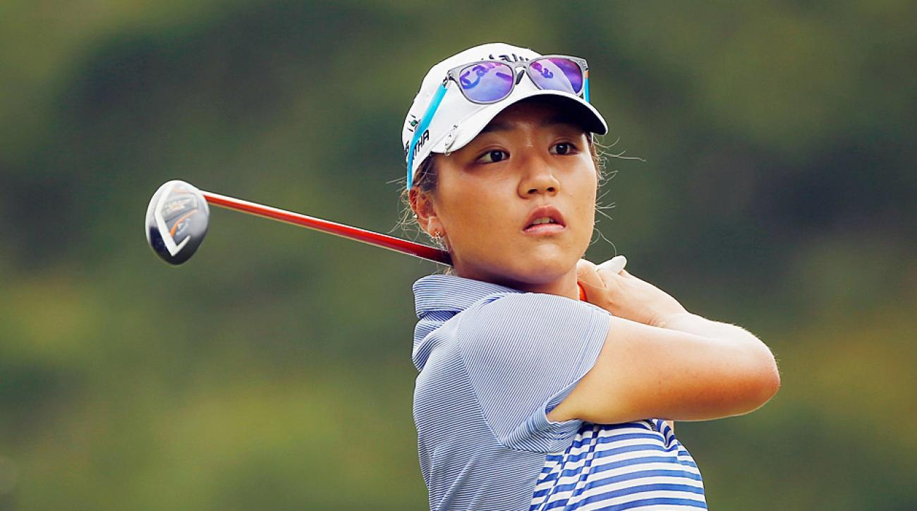 Lydia Ko is the top-ranked female golfer in the world.