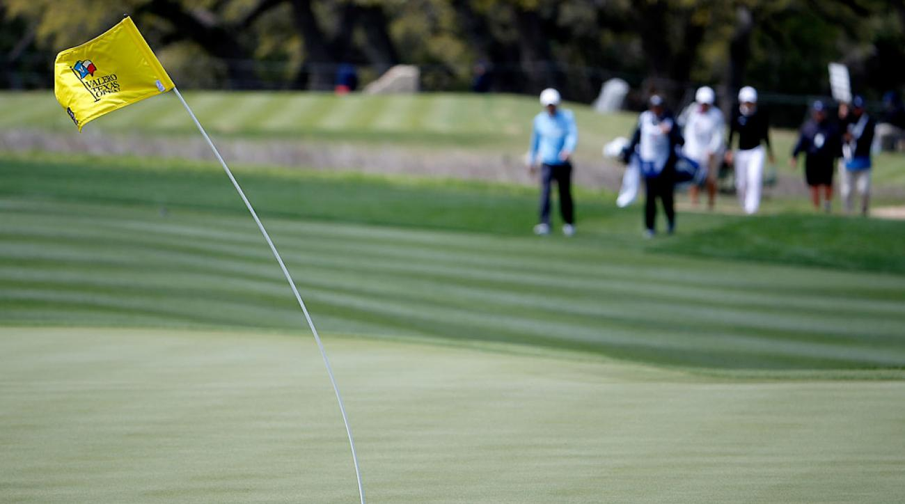 Wind caused lots of high scores during the first round at TPC San Antonio.