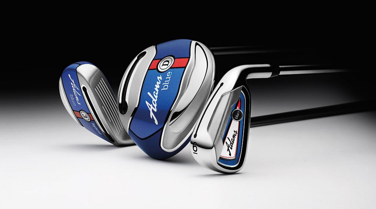 The all-new Adams Blue golf clubs.
