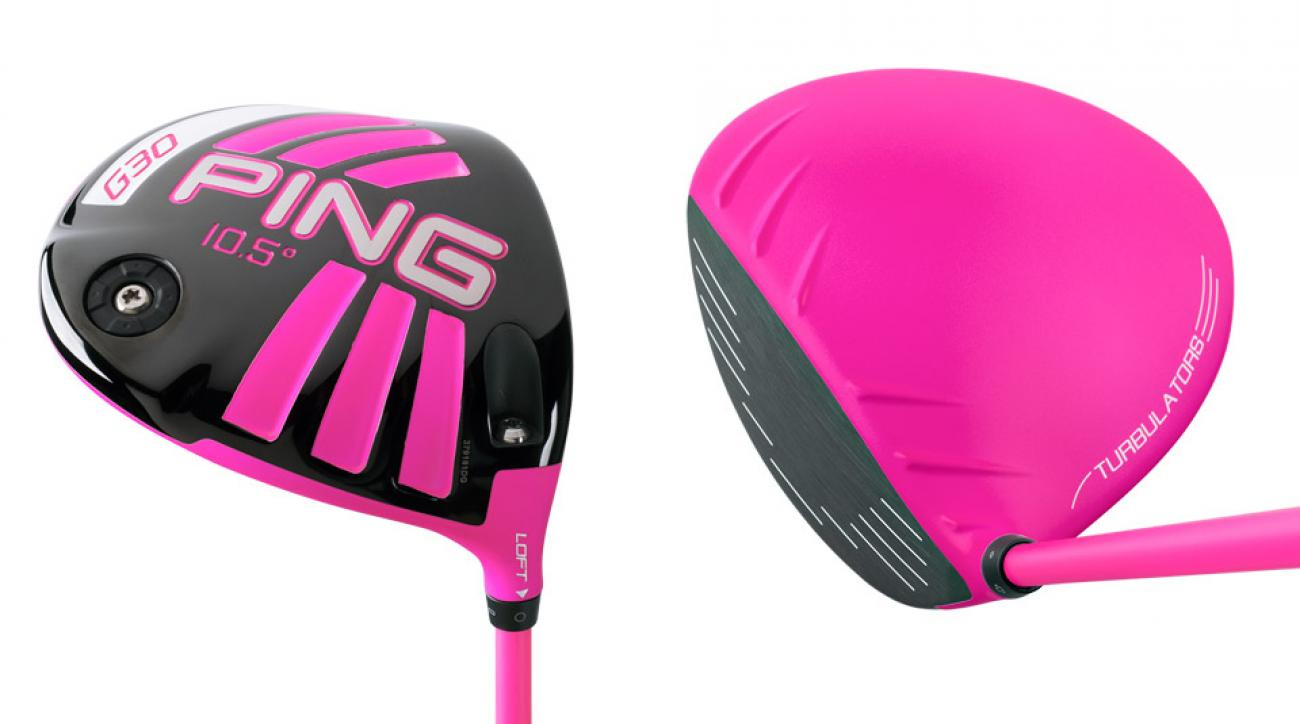Ping's Limited Edition Pink G30 driver.