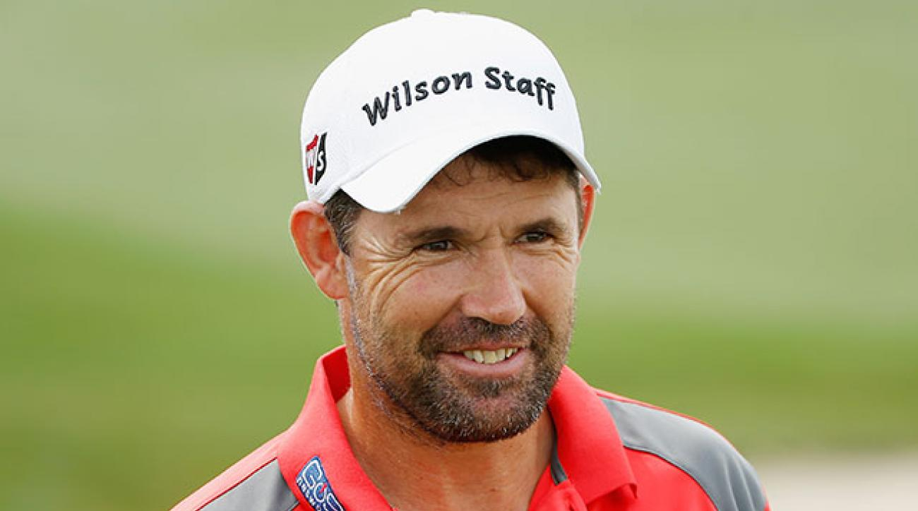 Padraig Harrington in the 2015 Shell Houston Open