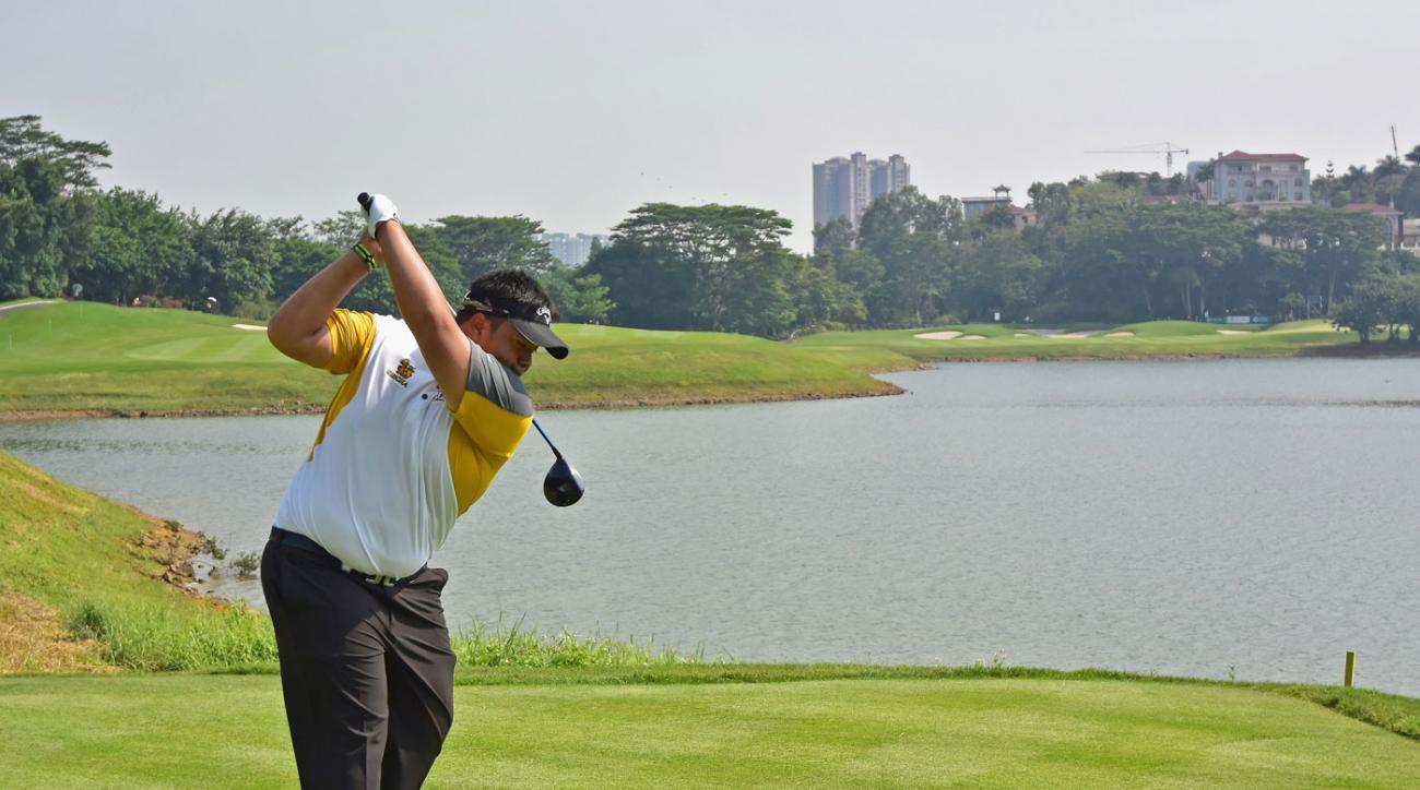 Kiradech Aphibarnrat plays the Shenzhen International in China.