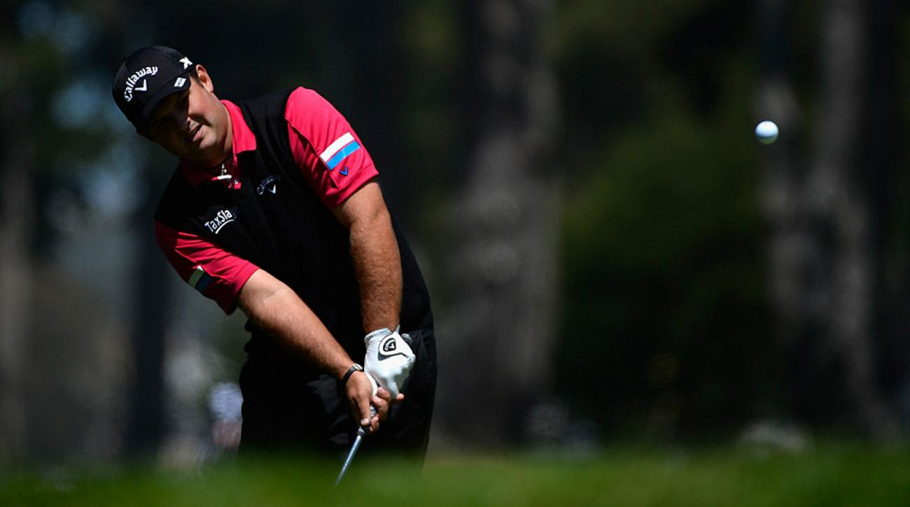 Patrick Reed won 2 and 1 on day 1 of the Match Play.