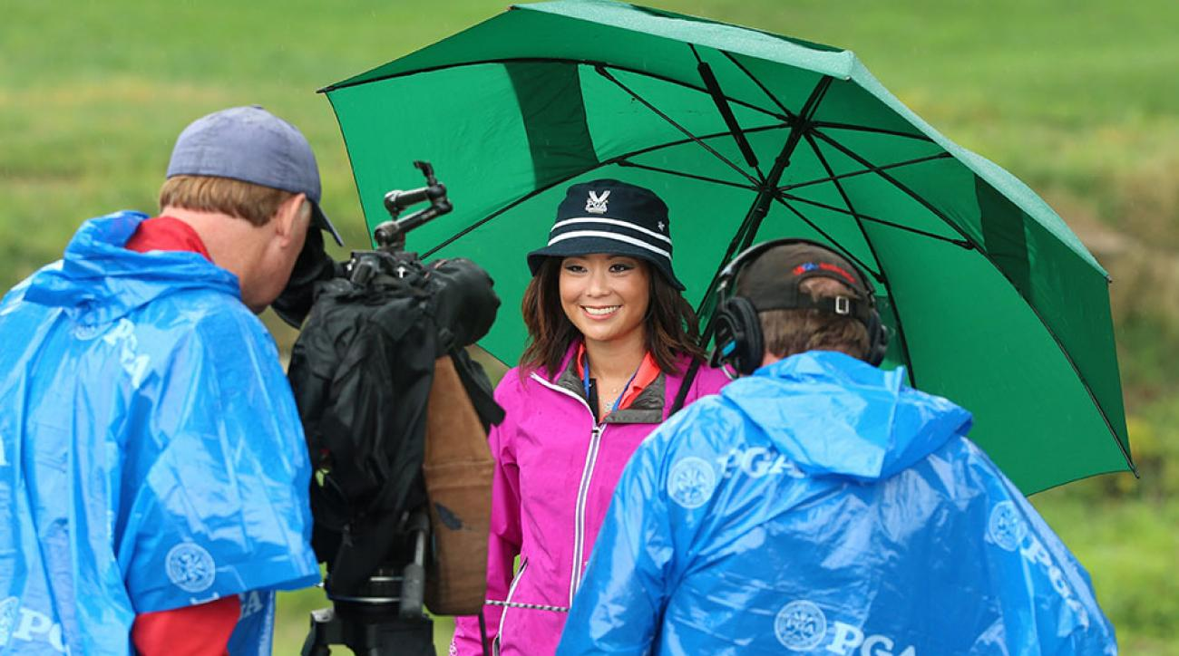 Golf blogger Stephanie Wei lost her PGA Tour credentials after capturing live video during a Monday practice round.