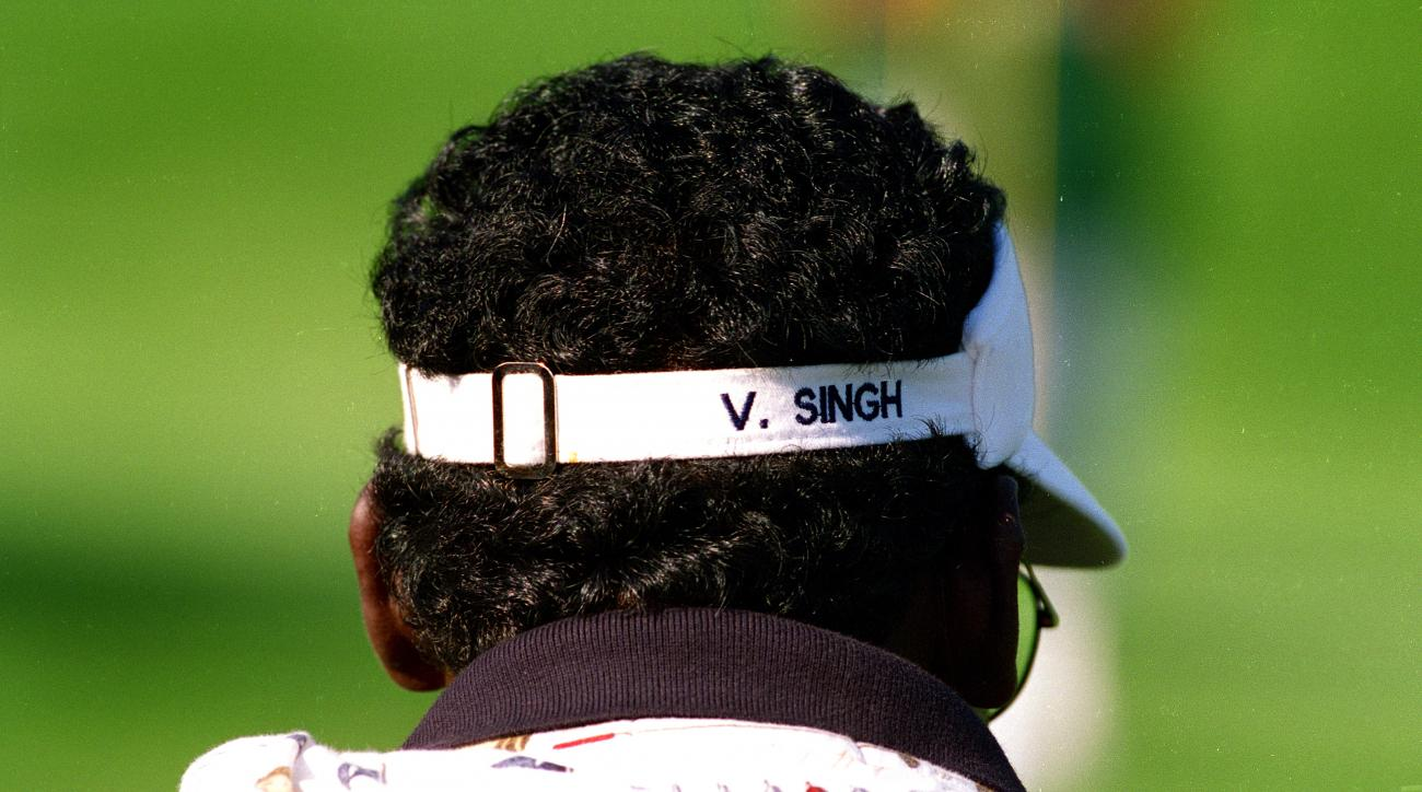 Former World No. 1 Vijay Singh of Fiji was inducted into the World Golf Hall of Fame in 2006.