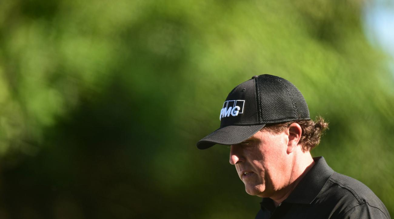 Phil Mickelson missed the cut at the Players Championship for the third year in a row on Friday.