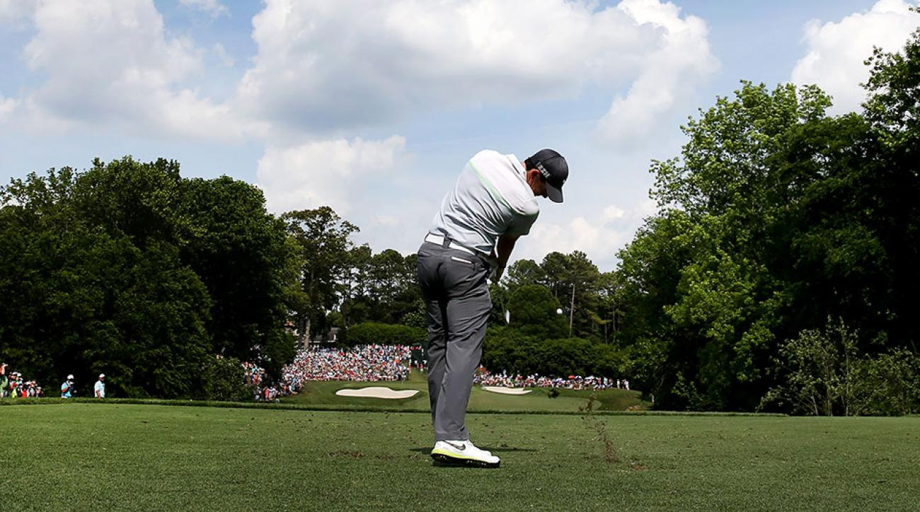 Rory McIlroy charged into the lead on Saturday at the Wells Fargo Championship.