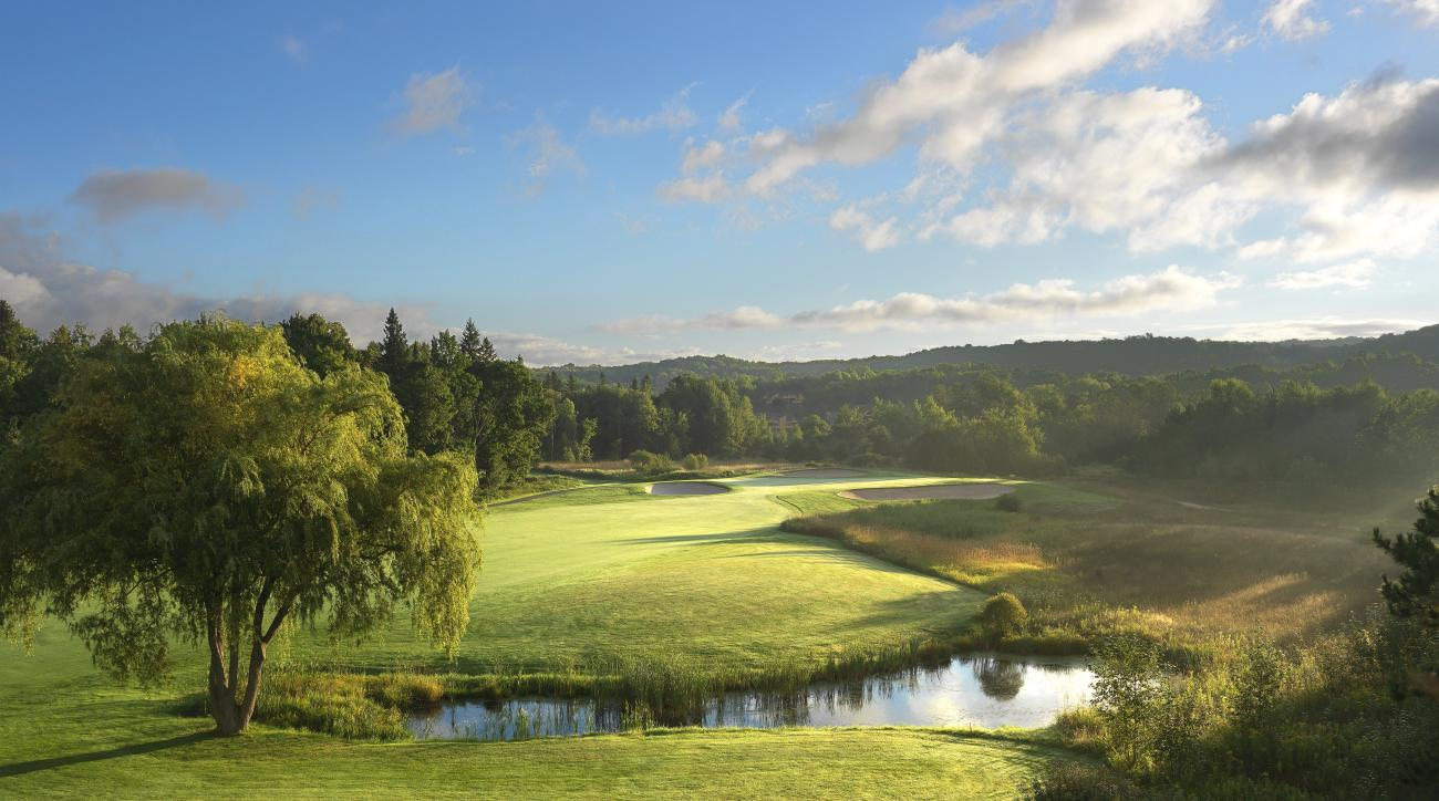 No. 16 at the Moor Courses at Boyne Highlands in Harbor Springs, Mich.