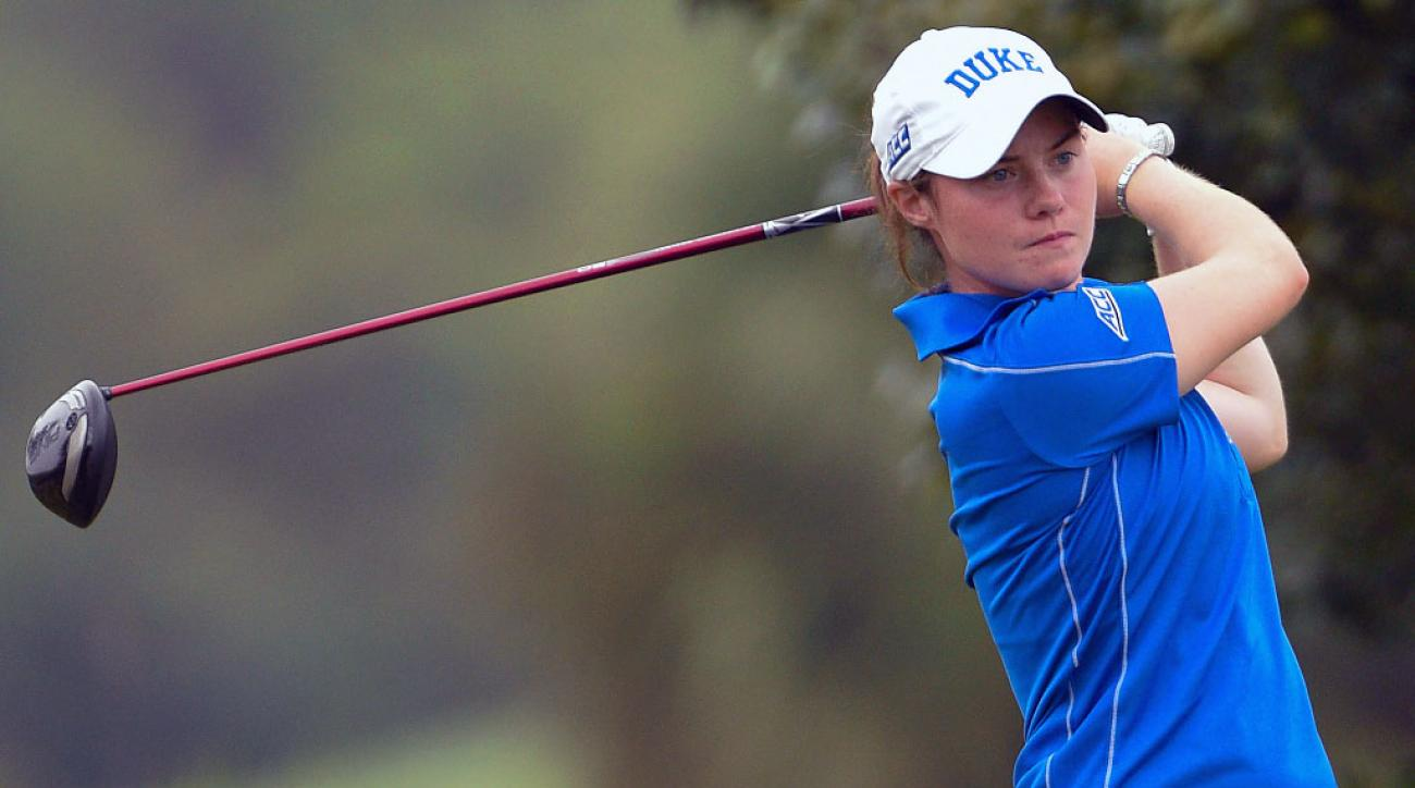 Leona Maguire is the top-ranked amateur in women's golf.