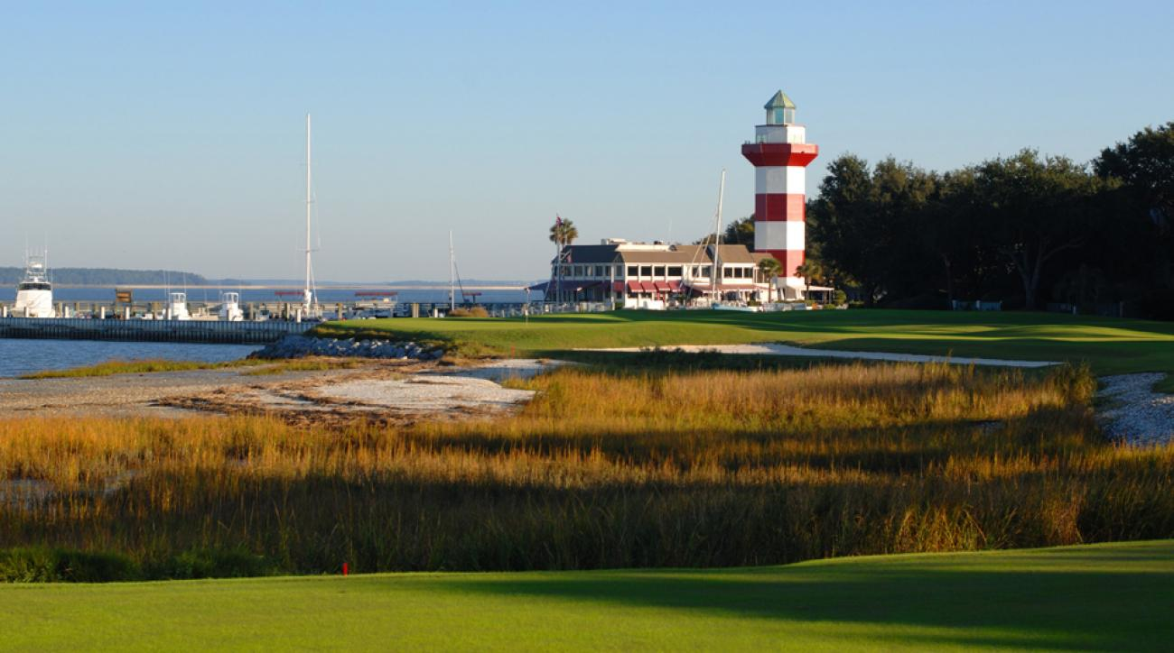The most famous hole at Harbour Town Golf Links is the last, the par-4 18th that runs along the Calibogue Sound and has Sea Pines Resort's iconic lighthouse looking over it.