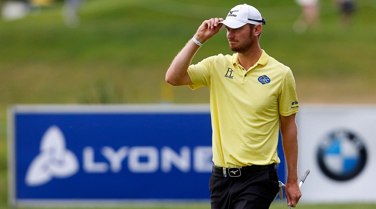 Chris Wood shot a final-round 67 to win the 2015 Lyoness Open.