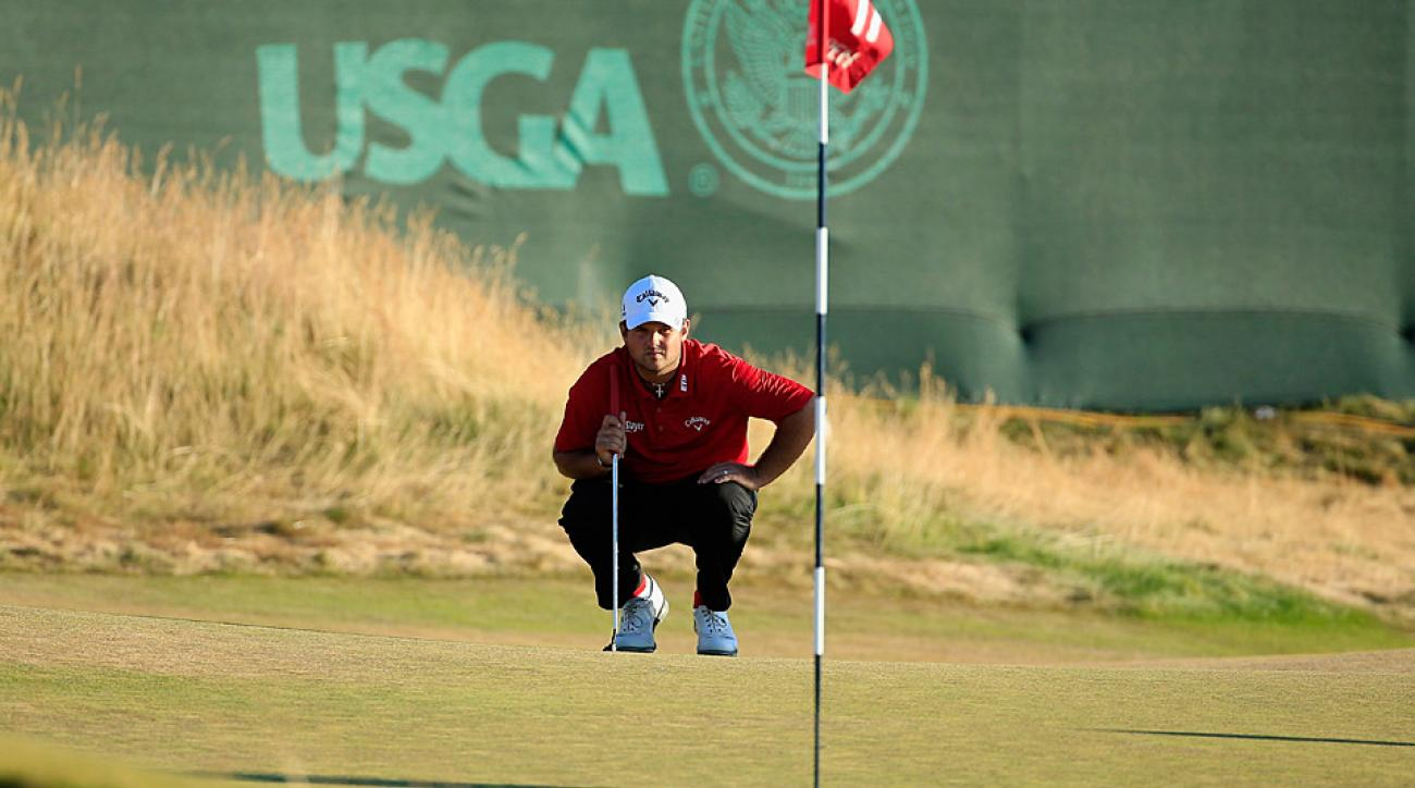 Patrick Reed is tied for the lead with Jordan Spieth after two rounds.