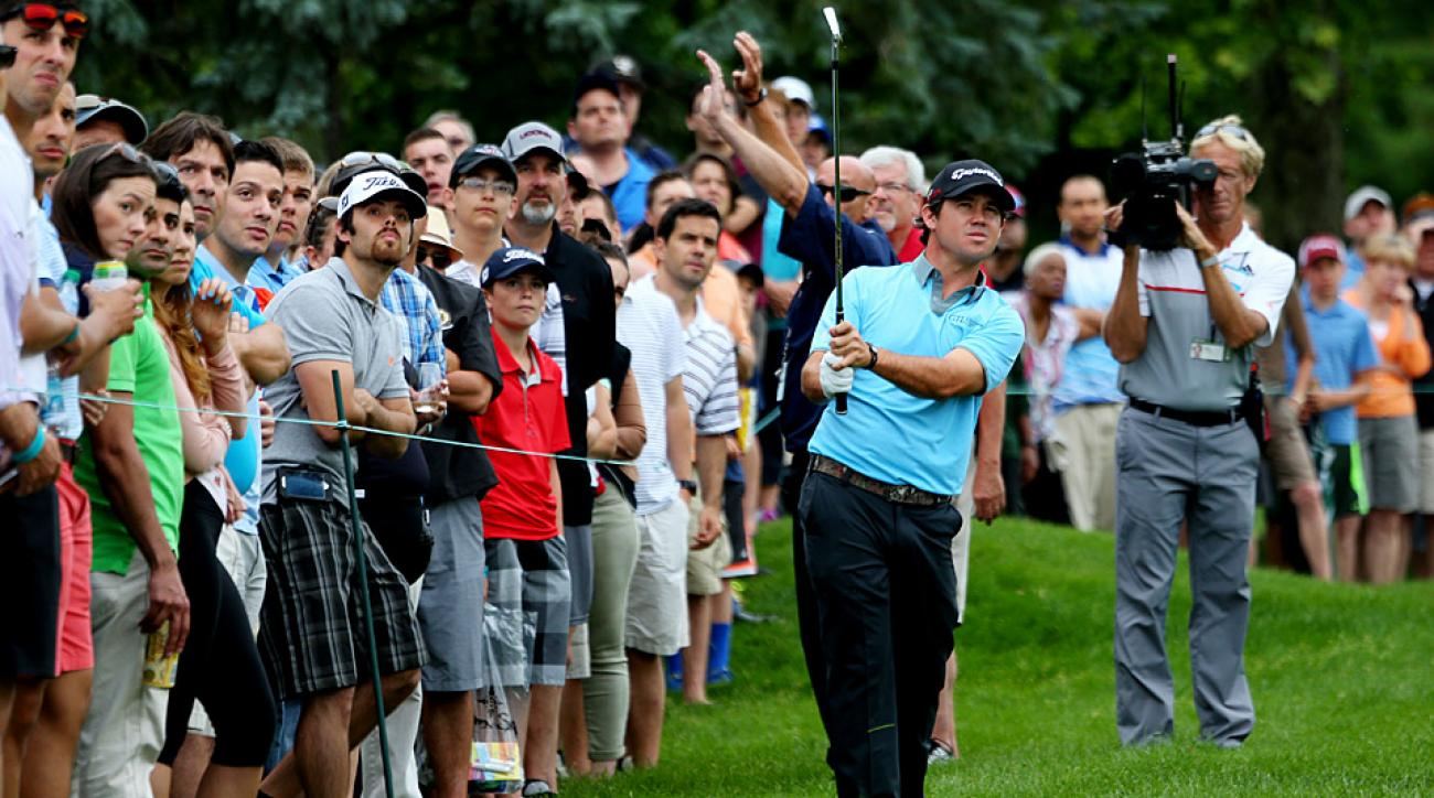 Brian Harman during the third round of the Travelers Championship.