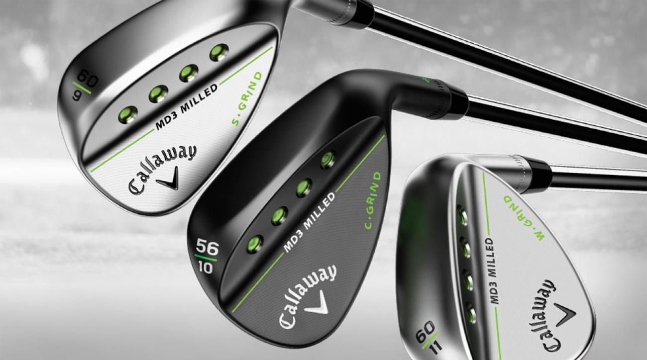 Callaway MD3 Milled Wedges