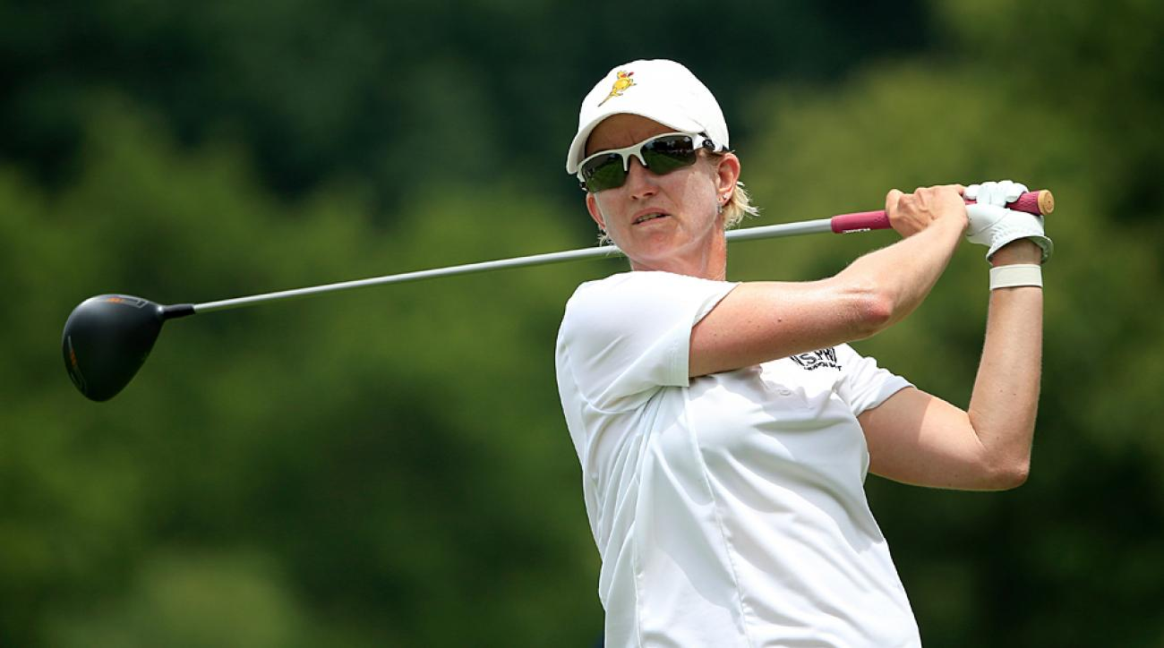 Hall of Fame member Karrie Webb shot a 66 to tie for the early lead.