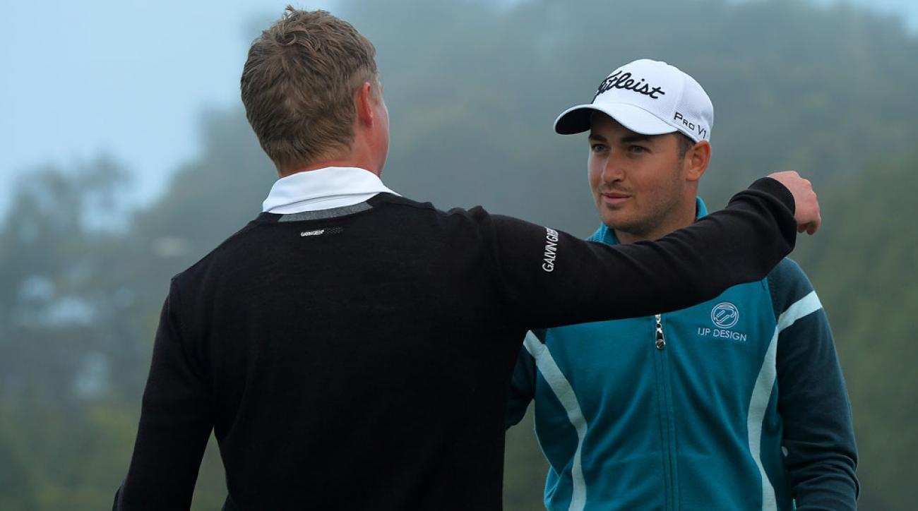 Daniel Brooks won the 2014 Madeira Islands Open.