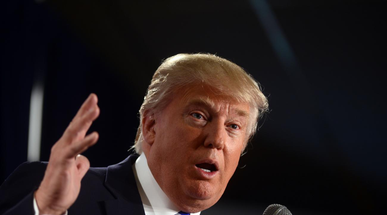 Donald Trump has come under fire for comments about Mexican immigrants made during his Republican presidential nomination campaign.