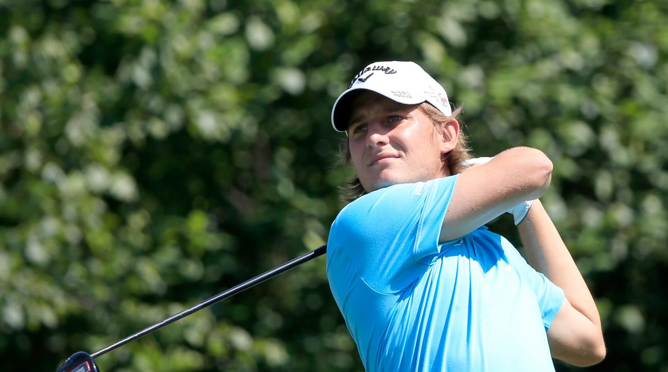 Emiliano Grillo fired a bogey-free 64 in the first round of the Canadian Open on Thursday.