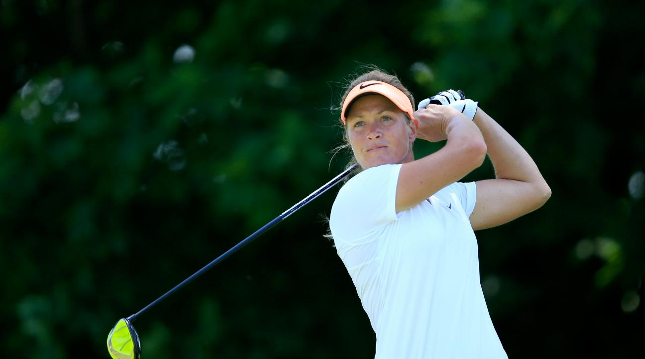 Suzann Pettersen of Norway is the No. 7-ranked player in the world.
