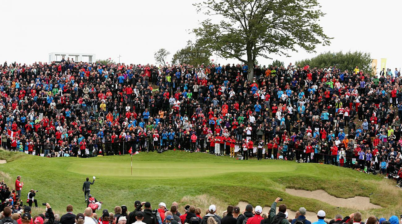 Massive crowds attended the 2014 Made in Denmark tournament.