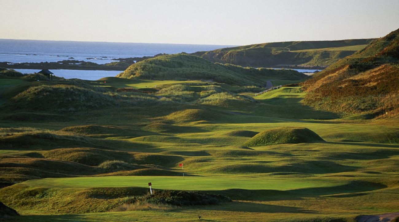No. 1: Cruden Bay in Scotland.