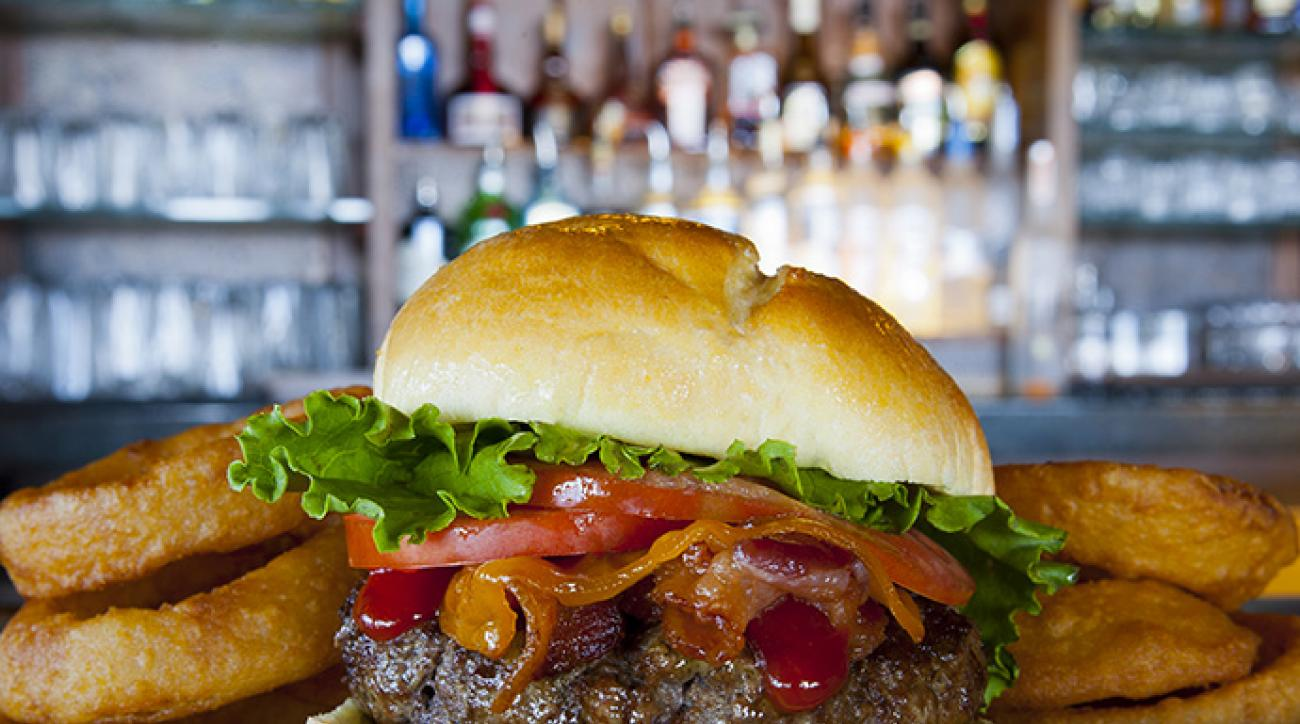 The Bagger Burger from The Ocean Course at Kiawah Island Golf Resort.