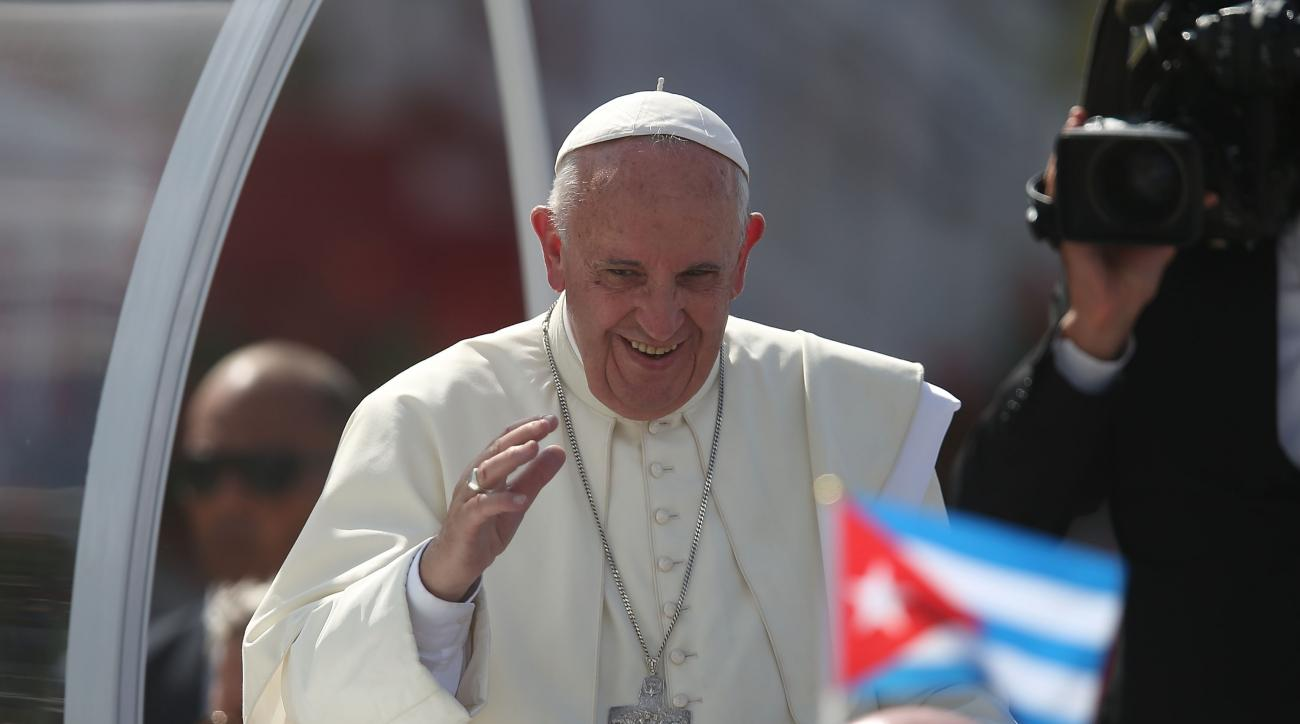 Pope Francis' U.S. itinerary this week features sinfully little golf.