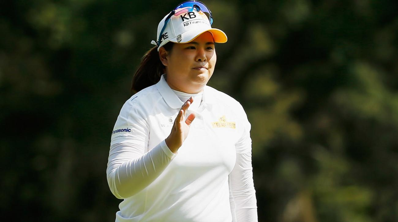 Inbee Park during the first round on Thursday.