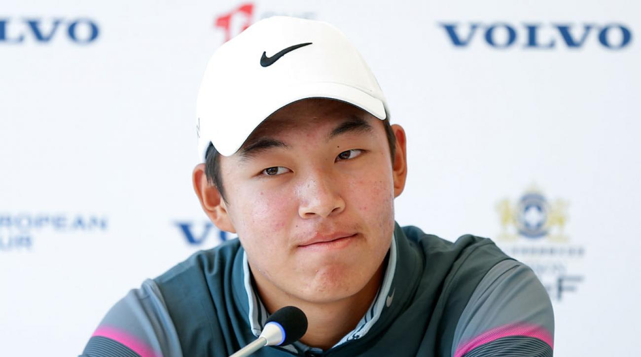 Next year, Jin Cheng will be the second Chinese amateur in four years to play in the Masters.