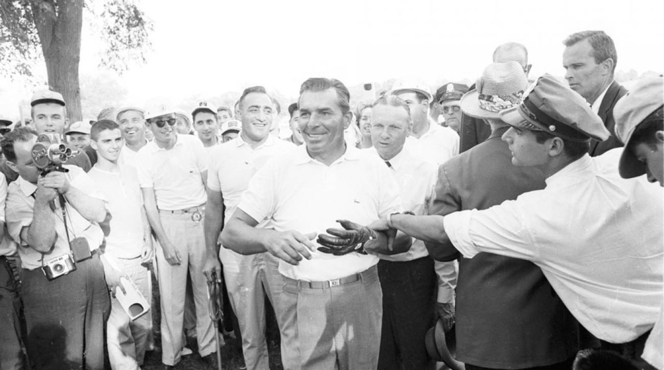 Julius Boros won the 1963 U.S. Open at Brookline.