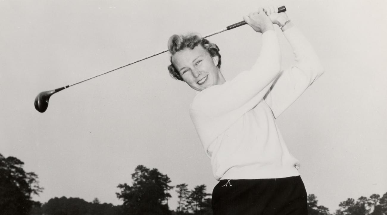 World Golf Hall of Fame member Mickey Wright.
