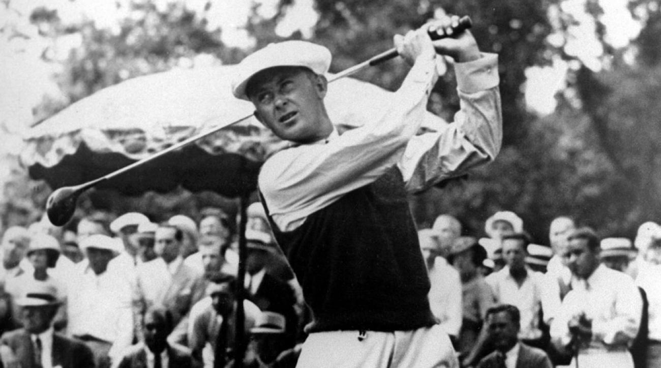Paul Runyan at the 1934 U.S. Open.