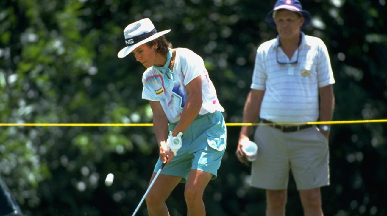 Alice Ritzman during the U.S. Women's Open