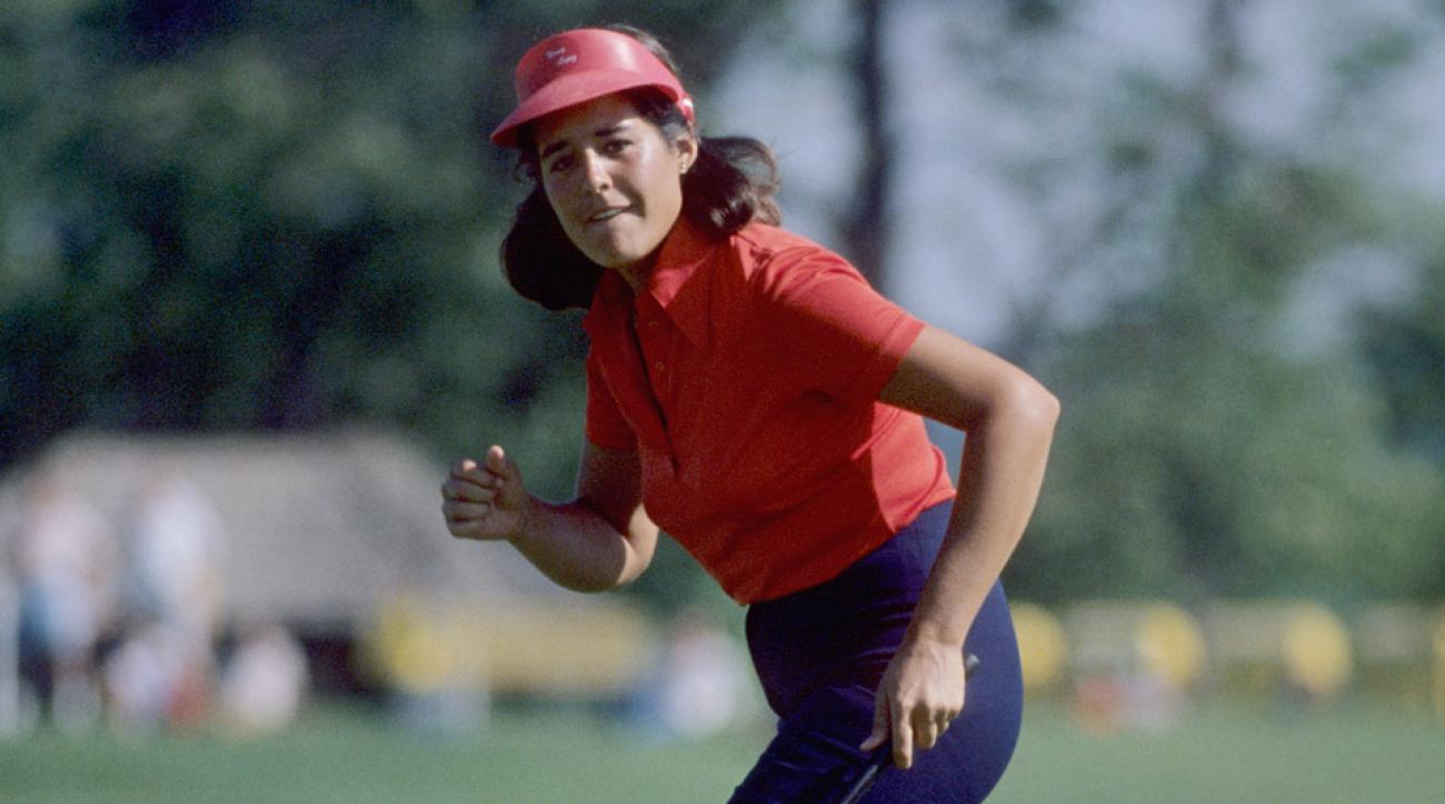 Nancy Lopez is one of the greatest LPGA players of all time.