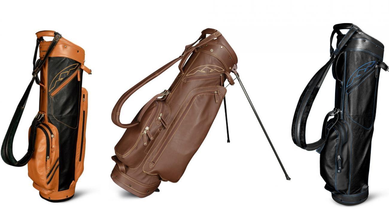 Sun Mountain Leather Golf Bags Stand Golf Bags Cart Golf