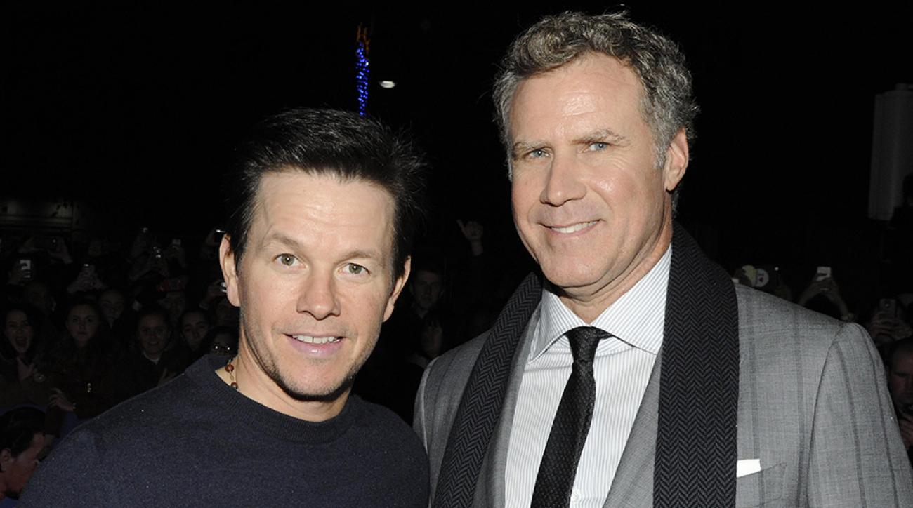 "Mark Wahlberg and Will Ferrell attend the Dublin Premiere of ""Daddy's Home"" at the Savoy Cinema on December 7, 2015 in Dublin, Ireland."