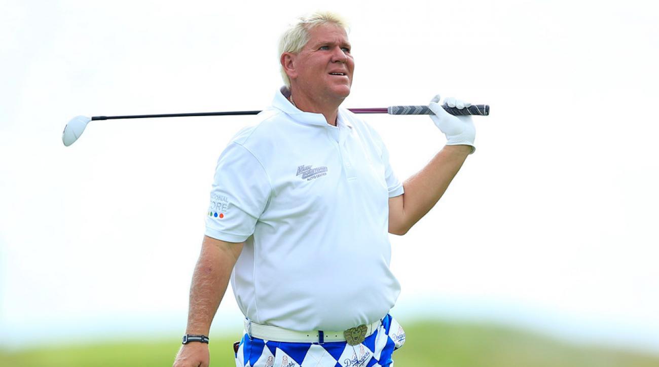 John Daly during the 2015 PGA Championship.