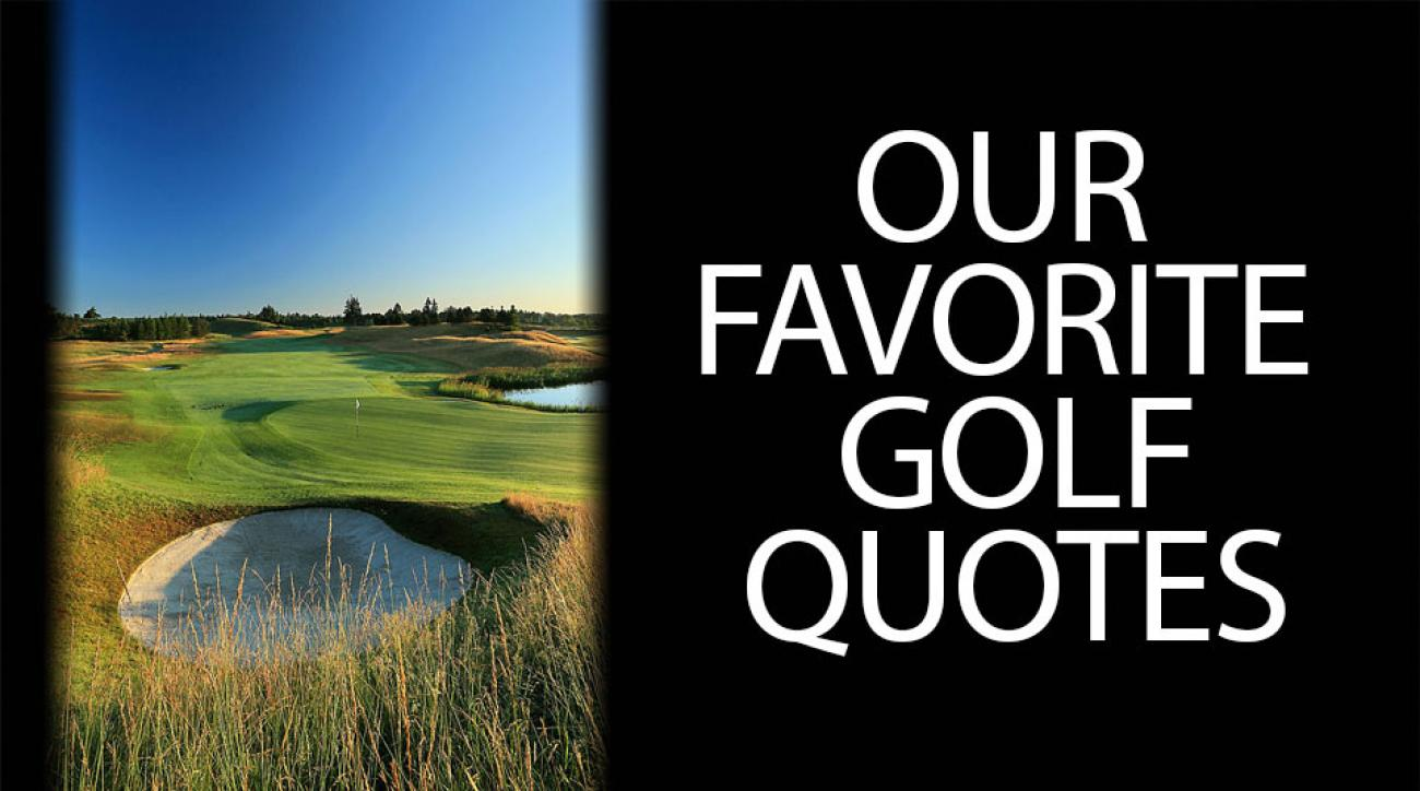 Golf Quote Entrancing The Best Golf Quotes  Golf