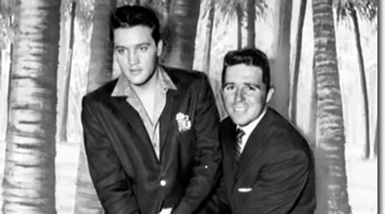 The King and the Black Knight, circa 1961.