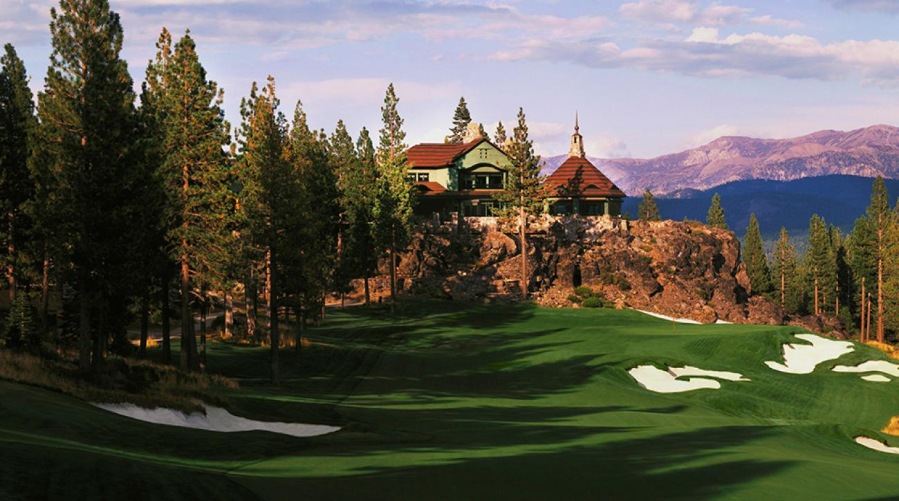 Whether your choice of sticks is ski poles or golf clubs, like at Martis Camp, just north of Lake Tahoe, is all peaks.
