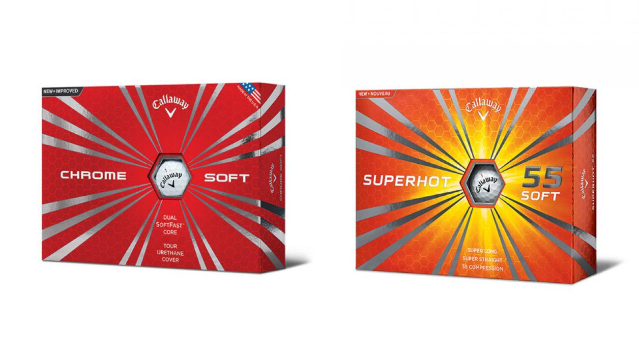 Callaway Chrome Soft Golf Balls, Callaway Superhot 55 Golf Balls
