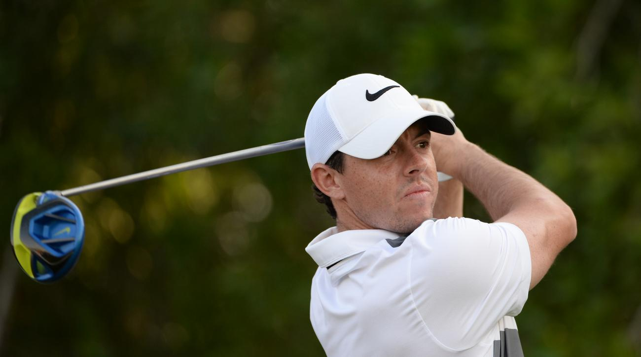 Rory McIlroy had a banner day on Twitter with Happy Gilmore quotes and an epic troll.