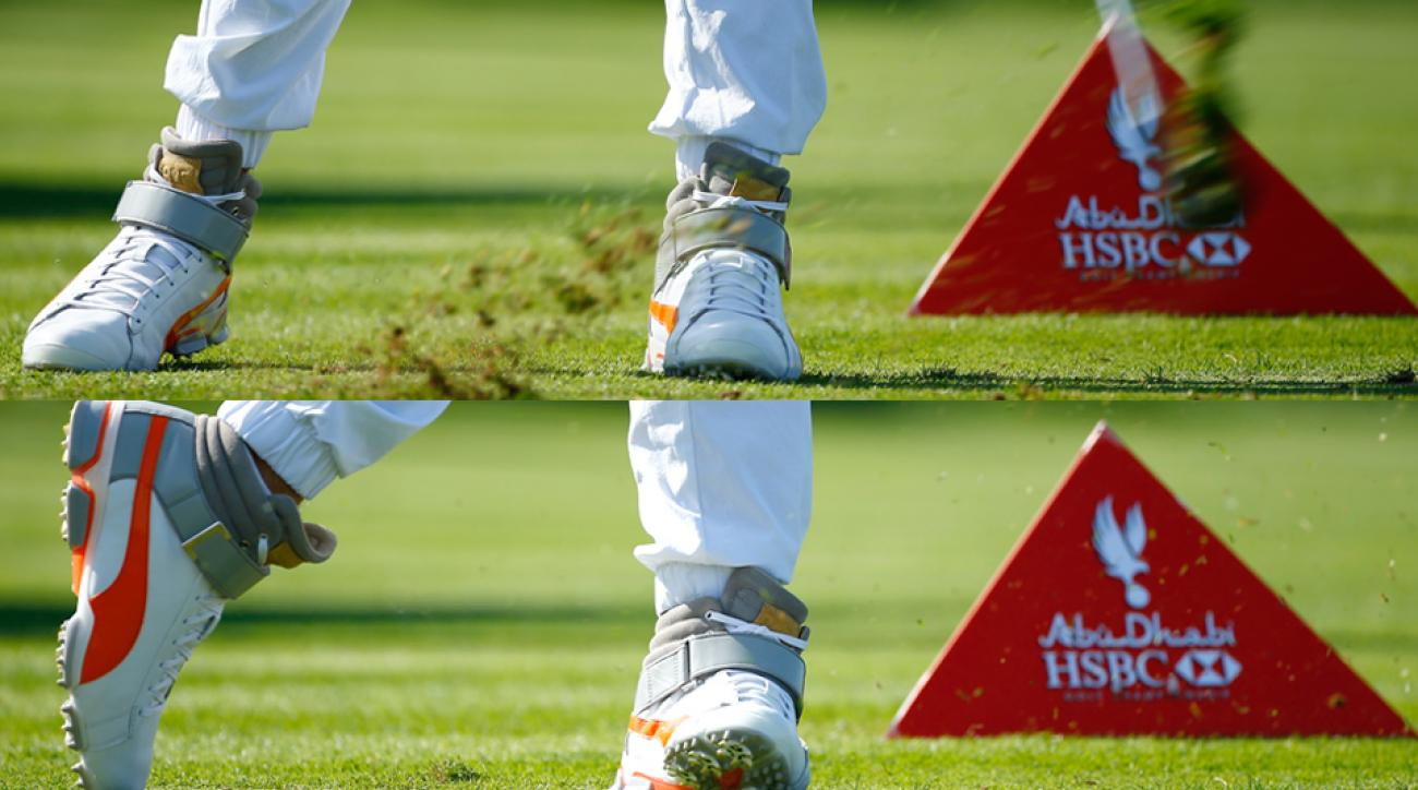 Rickie Fowler Golf Shoes Abu Dhabi