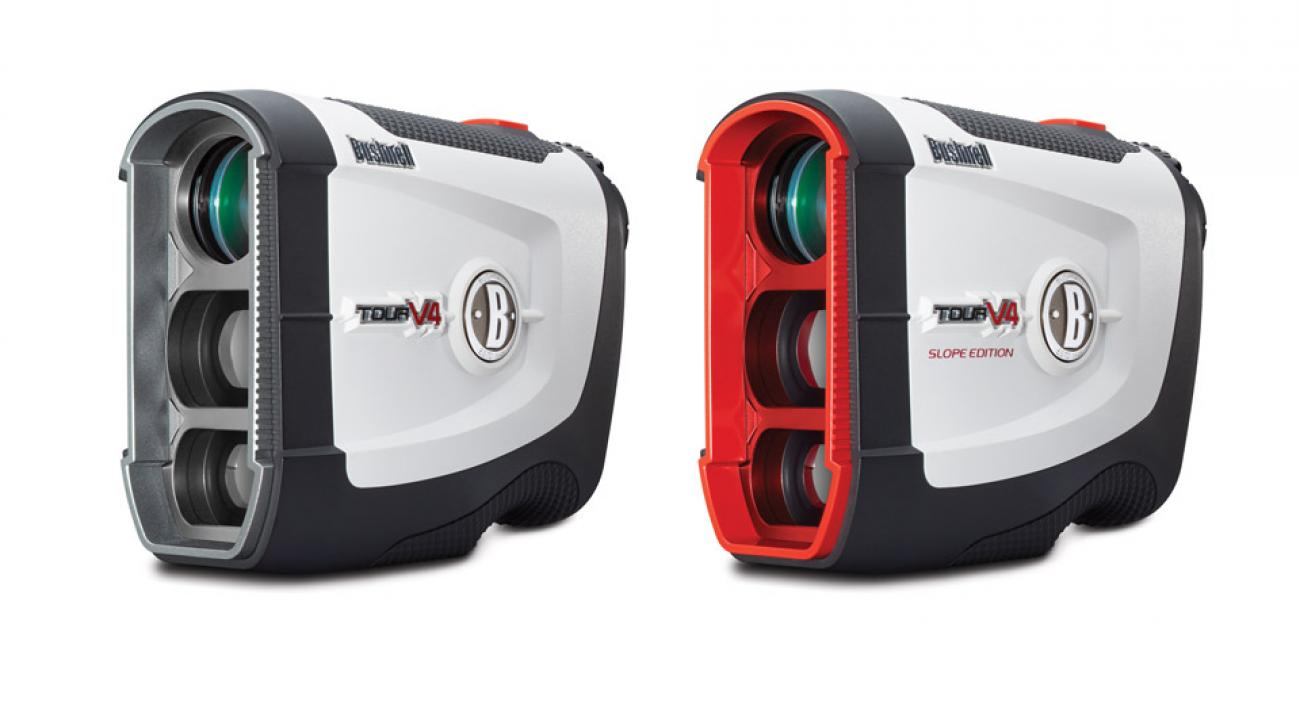 New Bushnell Tour V4 rangefinders.
