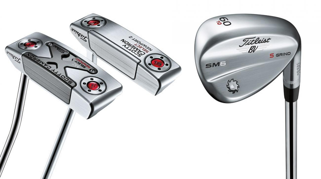 A look at two of the new Scotty Cameron putters and a new Vokey SM6 wedge.