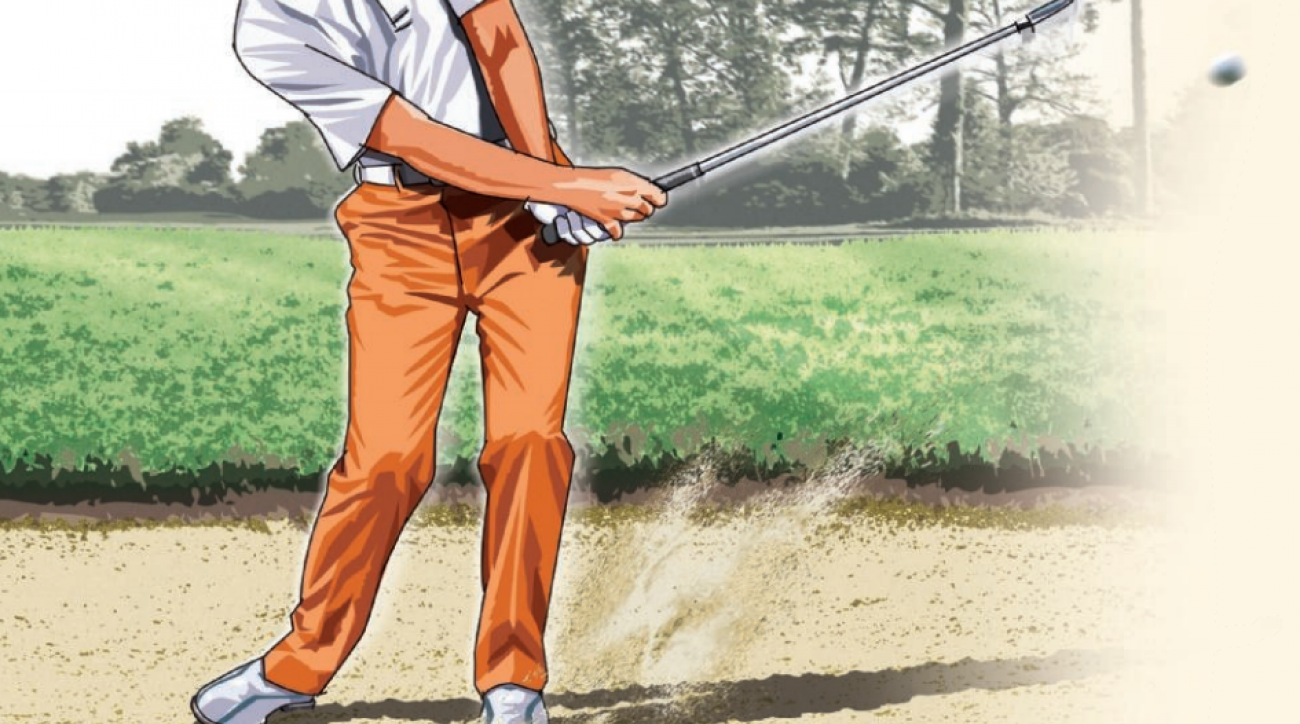 For a low-handicapper to become even better, they'll need to better control their amount of spin out of the greenside bunker.