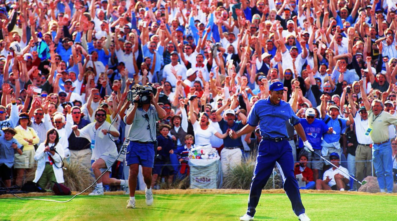 tiger woods u0026 39  1997 phoenix open ace  ranking the crowd