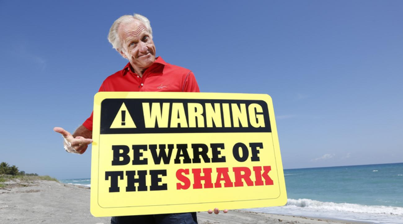 "Hurry and apply so you get a chance to be on ""Greg Norman's Shark Tank."""
