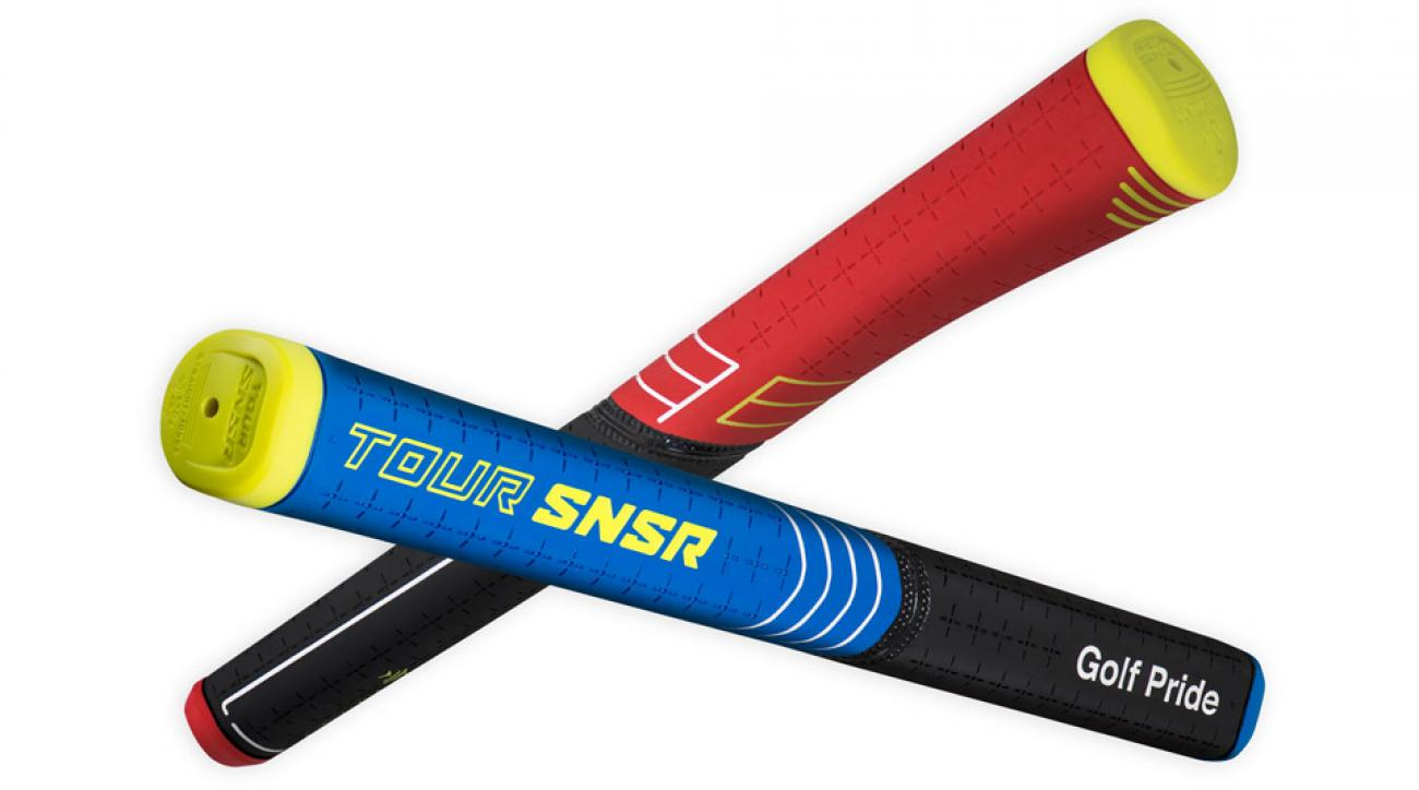 Golf Pride Tour SNSR putter grips.